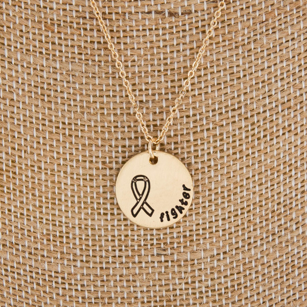 """Cute long necklaces with pendant positive messages. Approximate 22"""" in length with .5 pendant."""