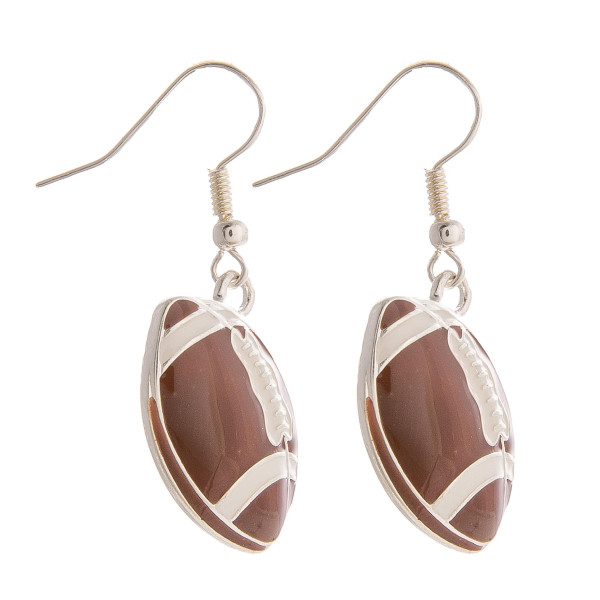 "Sports fans ""Do you love the love of ball"" rather its basketball or football etc. Enjoy these gorgeous sport earrings. Approximate 1"" in length."