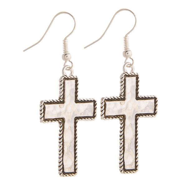 Wholesale gorgeous metal cross earrings Approximate