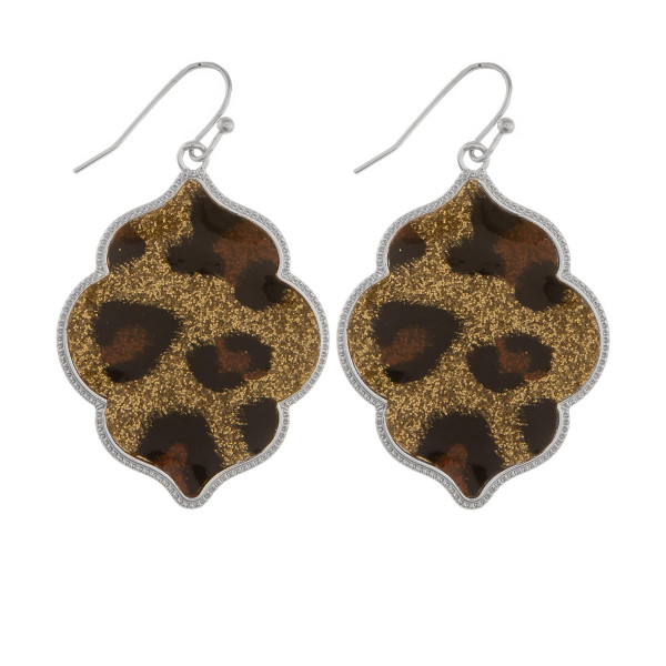 Wholesale short earrings rhinestone leather detail Approximate