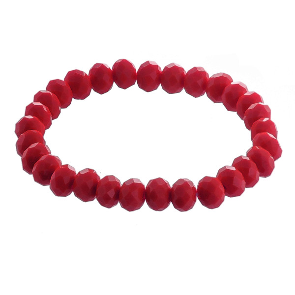 """Beaded stretch bracelet. Approximate 6"""" in length."""