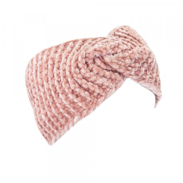 Twisted chenille hand wrap. 100% polyester.