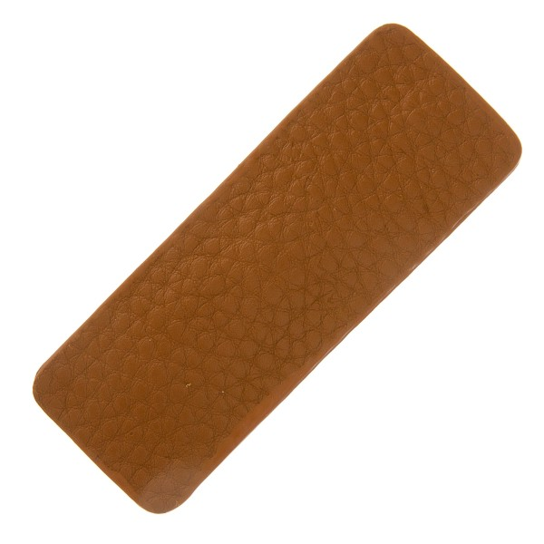 "Faux leather hair clip set of two.  - 2 pcs/pack - Approximately 2.5"" in length"