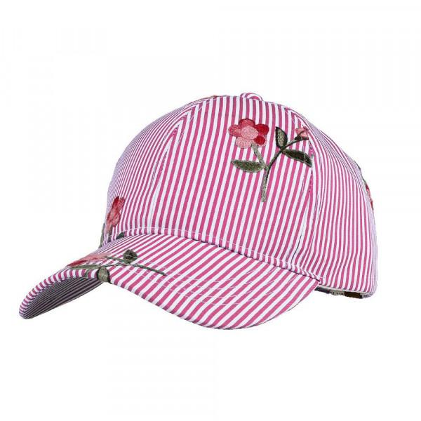 Wholesale c C Brand BA pinstripe floral baseball cap standard adjustable  ponytai 528ef75bb37
