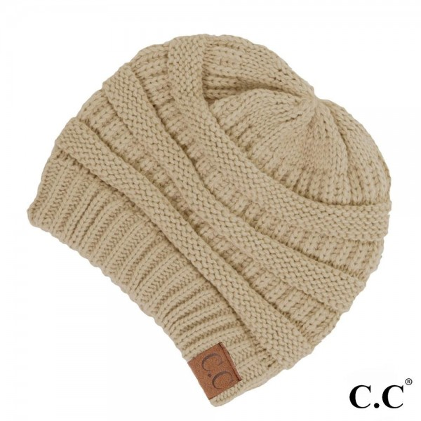HAT-20A-The original C.C beanie style. 100% acrylic. Measures 9.5 ... a7d2bfdd716