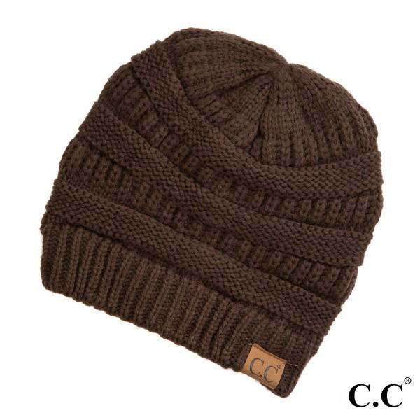Wholesale original C C beanie brown acrylic diameter