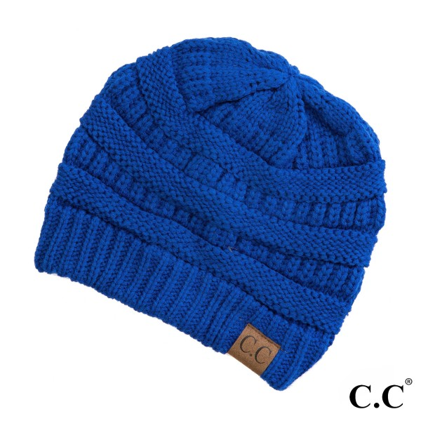 Wholesale original C C beanie royal blue acrylic diameter