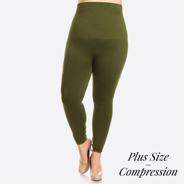 Wholesale waist Compression Leggings Tummy Control extra hold waist leggings ha