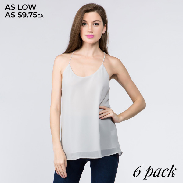 This lightweight camisole shirt is perfect for summer weather.