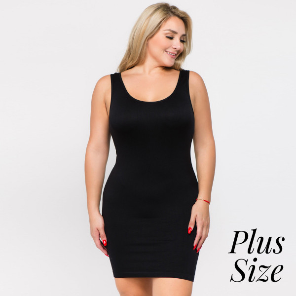 The traditional ribbed tank dress is in for the long haul ...