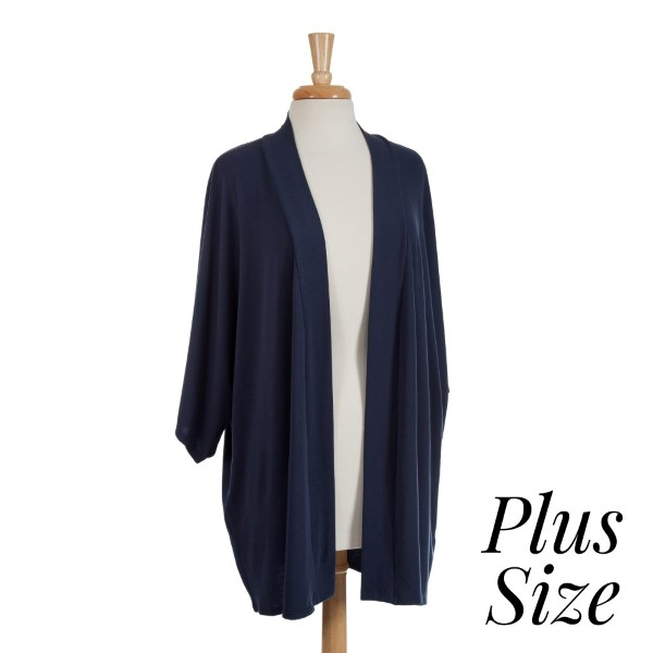 Navy blue shrug perfect for layering over tops and dresses ...