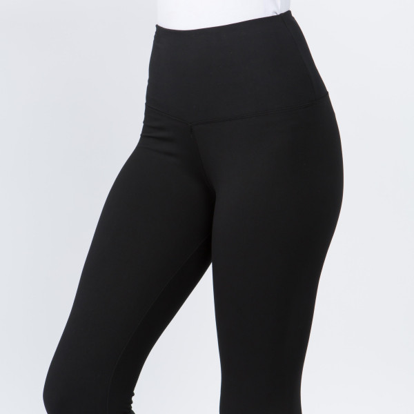 "These New Mix Brand peach skin leggings are seamless, chic, and a must-have for every wardrobe. These lightweight, full-length leggings have a 5"" waistband. They are versatile, perfect for layering, and available in many colors. 92% Polyester 8% Spandex. One size fits most, fits US women's 0-14."