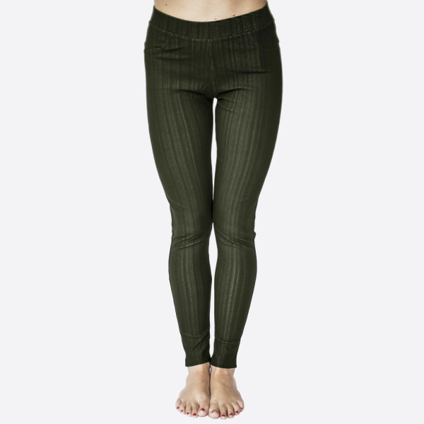 """Premium denim back pocket ankle jeggings made of premium stretch denim material Features back pockets embellished with studs detail. One size fits most plus dress size 16-20. Approx 30"""" inseam. 75% Cotton, 17% Polyester, 8% Spandex."""