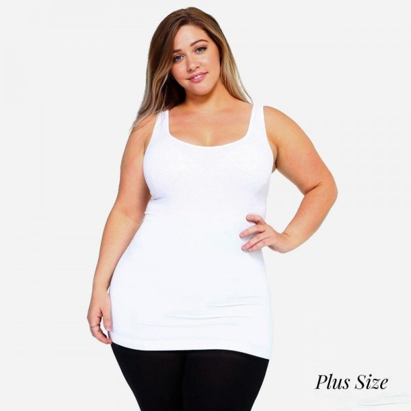The possibilities are endless with the Women's Seamless Tank Top. This basic beauty offers style and comfort in any setting. Rock it bare with a pair of denim jeans for a casual look, or mix and match it with patterned cardigans, skater skirts, or wide leg pants for a sassy look. 