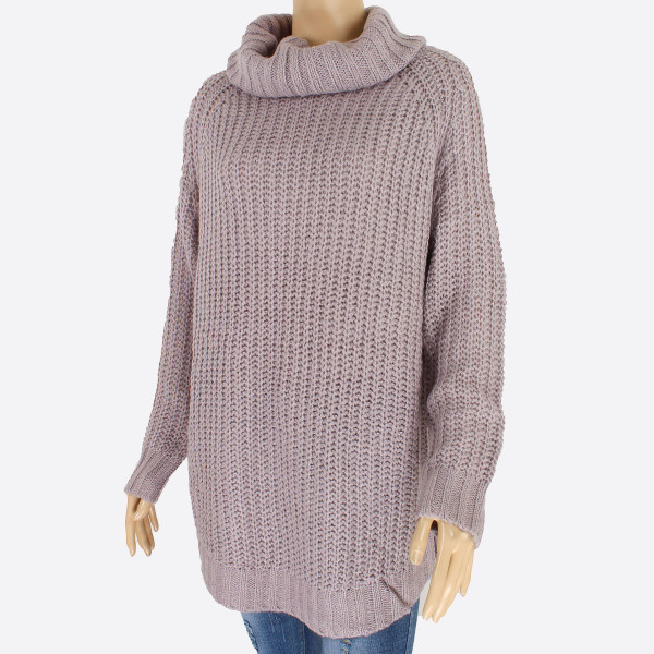 d73555ce08b5d6 Wholesale gorgeous knit sweater loose fitting turtle neck sweater keep warm  ever