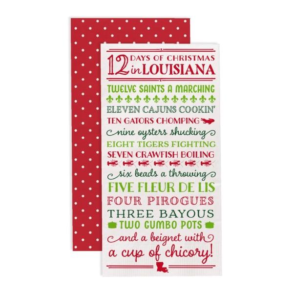 image regarding 12 Days of Christmas Lyrics Printable known as 12 Times of Xmas within Louisiana\