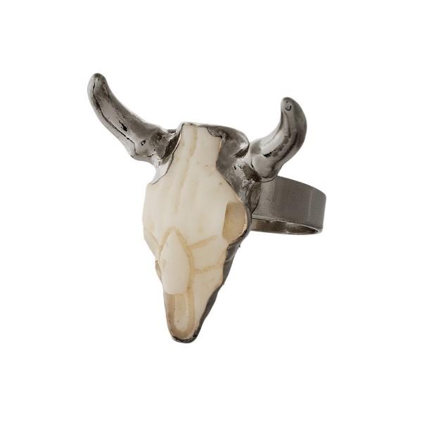 Adjustable resin steer head ring.
