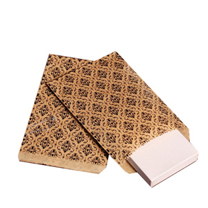"""100 count Damask Print gift bags measuring 6"""" x 9"""". Perfect for sending your merchandise home with your customers in style!"""