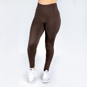 New Kathy / New Mix brown, summer-weight leggings are seamless, chic, and a must-have for every wardrobe. These lightweight, full-length leggings are versatile, perfect for layering, and available in many shades. Smooth fabric, 92% Nylon 8% Spandex. One size fits most, fits US women's 0-14.
