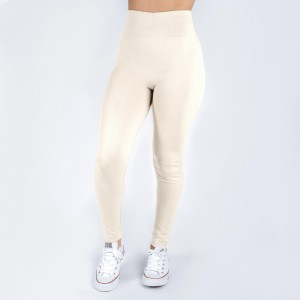 New Kathy / New Mix cream, summer-weight leggings are seamless, chic, and a must-have for every wardrobe. These lightweight, full-length leggings are versatile, perfect for layering, and available in many shades. Smooth fabric, 92% Nylon 8% Spandex. One size fits most, fits US women's 0-14.