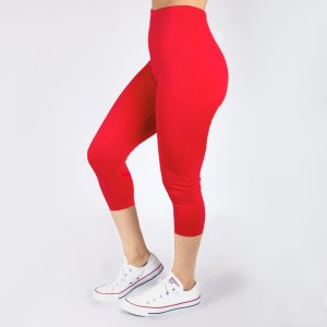 New Kathy / New Mix coral, summer-weight capris are seamless, chic, and a must-have for every wardrobe. These lightweight, interchangeable styles are versatile, perfect for layering, and available in many shades. 92% Nylon 8% Spandex. One size fits most, fits US women's 0-14.