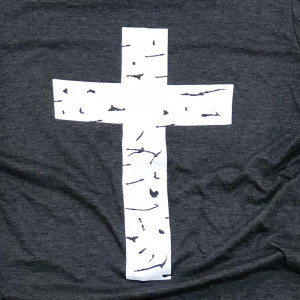 Distressed Cross - Short Sleeve Boutique Graphic Tee. These t-shirts are sold in a 6 pack. S:1 M:2 L:2 XL:1 35% Cotton 65% Polyester Brand: Anvil