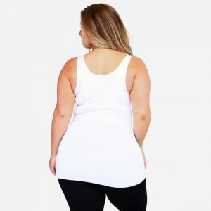 The possibilities are endless with Women's Seamless Tank Top. This basic beauty offers style and comfort for any setting. Rock it bare with a pair of denim jeans for a casual look. Or have fun mixing and matching with patterned cardigans, skater skirts, and wide leg pants for a sassy look.   • Round Neckline  • Body-con  • Sleeveless  • Fitted  • Solid Color  • Super Soft  • Stretchy   Fits most women sizes 16-22   COMPOSITION: 92% Nylon, 8% Spandex