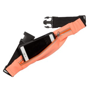 Florissant fanny pack suitable to hold most phones.