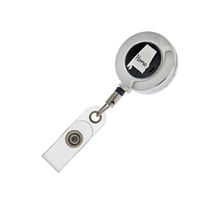 "Alabama ""Home"" ID badge holder with retractable reel."