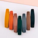Wholesale acrylic retro hair clip set two pcs pack