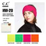 Wholesale c C HW Cable knit headwrap Acrylic One fits most