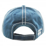 Wholesale vintage distressed baseball cap Sunshine Whiskey embroidered details C