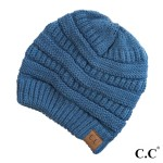 Wholesale c C Hat Solid ribbed beanie Original beanie Acrylic One fits most Matc