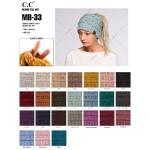 Wholesale mB Messy bun confetti print C C beanie acrylic Matches HAT G SF