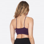 Wholesale sweat it out seamless sports bra eye catching front detail supportive