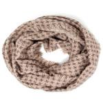 Wholesale houndstooth print infinity scarf W L Acrylic