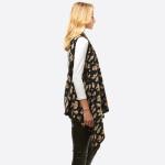 Wholesale leopard print vest One fits most Acrylic
