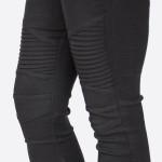 Wholesale stretch Moto Leggings Pants zipper ankle Sold packs S M L XL Cotton Ny
