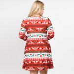 Wholesale if snowflakes falling nose eyelashes part things swing dress will easi
